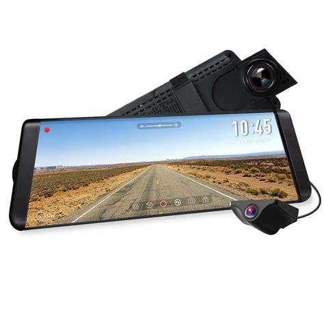 auto vox x2 auto vox x2 ドライブレコーダー 前後カメラ ルームミラーモニター デジタルインナーミラー 9 88インチタッチパネル 1296pフルhd 同時録画 駐車監視 暗視機能 gps速度