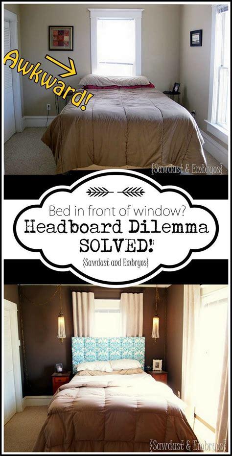 mount  headboard   window diy home decor