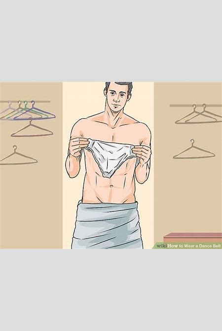 How to Wear a Dance Belt: 12 Steps (with Pictures) - wikiHow