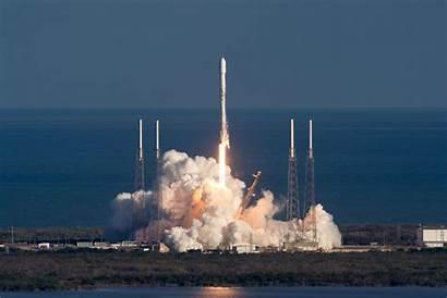 Rocket Spacex Satellite Launch Falcon 60th Flies