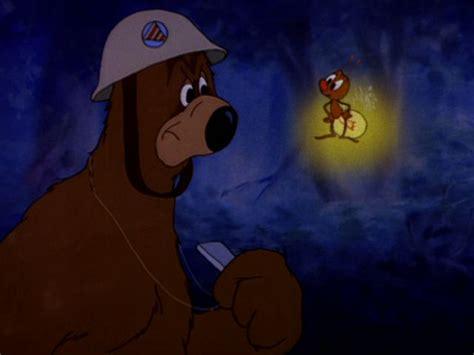 As A Civil Defense Warden, Barney Bear