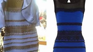 robe bleue ou blanche pas de panique l39explication est With robe bleu et noir illusion