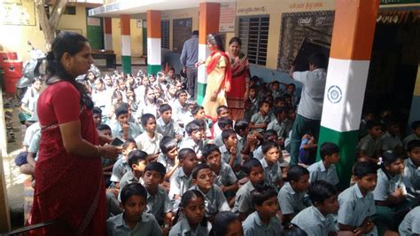 government school visit vydehi school
