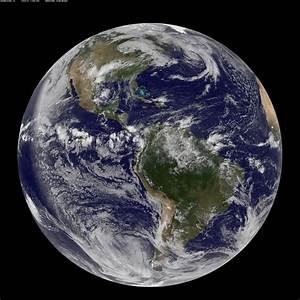 NASA GOES-13 Full Disk view of Earth May 14, 2010 | NASA ...