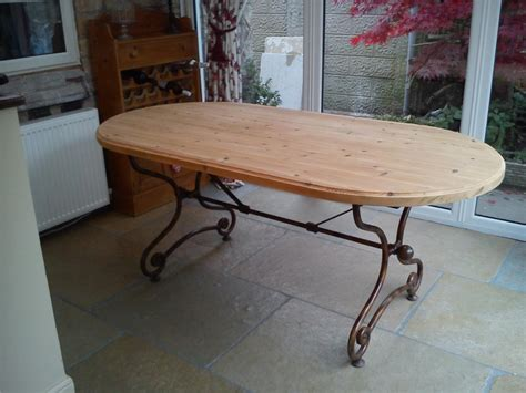 shabby chic  ft kitchendining table solid pine top