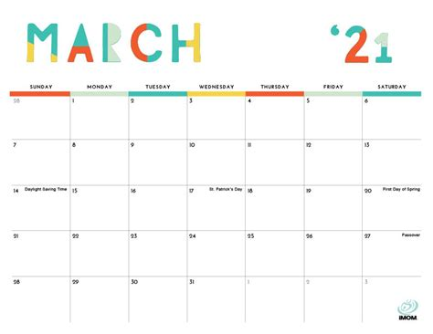 Imom 2022 Calendar.Printable Calendar Imom 2020 And 2021 Printable Calendars For Moms Imom Do Your Kids Struggle To Stay Organized Gail Alam