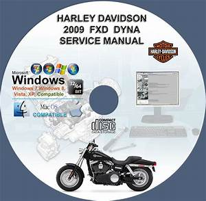 Harley Davidson Fxd Dyna 2009 Service Repair Workshop