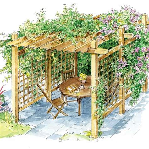 Einfache Pergola Bauen by How To Build A Pergola For Backyard Shade Diy