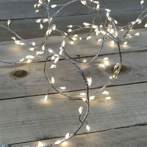 warm white led micro garland lights