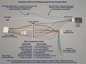 Alpine Cde 100 Wiring Diagram