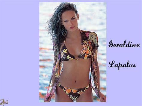 géraldine lapalus bikini g 233 raldine lapalus nude in shoot inconnu softcore in