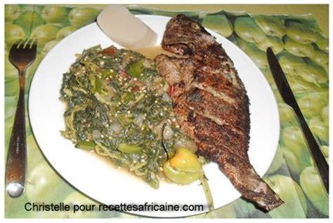 recette de cuisine africaine malienne poisson frit aux légumes verts recettes africaines