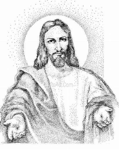 Coloring Jesus Preschool Christian Christ Popular