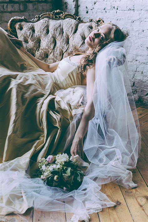 sleeping beauty bride  london bridal fashion story