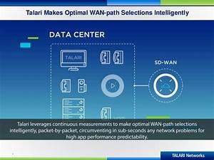 Talari SD-WAN Resiliency Advantages