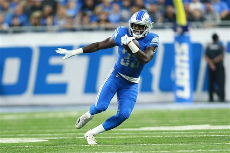 kerryon johnson   detroit lions week  fantasy player