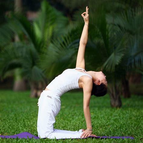 瑜伽基本动作图片_互动图片