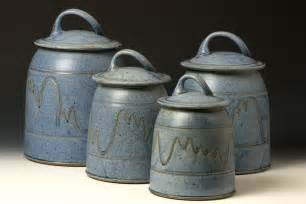 ceramic kitchen canister sets quail run pottery canister set kitchen