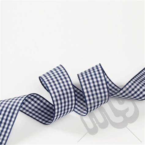 Blue ribbon benefits, is a family business that enjoys helping people. Navy Blue Gingham Ribbon 10mm x 20 metres - My Carrier Bag ...