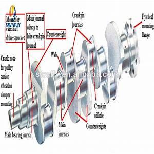 Volvo Deutz D13a Engine Crankshaft 22235114 20486222 For