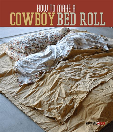 comfortable cing cowboy bed roll survival