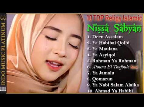 top lagu nisa sayban youtube