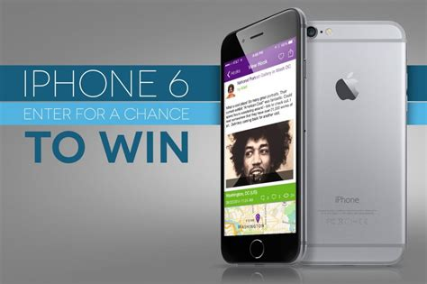 iphone 6 giveaway win a 64gb iphone 6 giveaway best free giveaways