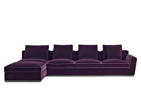 b b chaise haute solatium sofa with chaise longue solatium collection by
