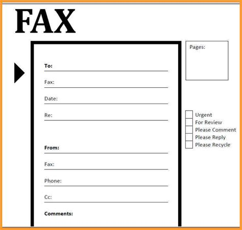 12174 printable standard fax cover sheet blank fax cover sheets gauheo tk