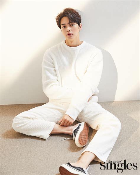 song kang  singles magazine january issue kpopmap