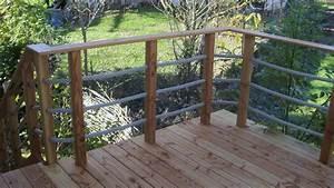 Garde Corps à Faire Soi Même : terrasse bois pilotis avec escalier ~ Premium-room.com Idées de Décoration