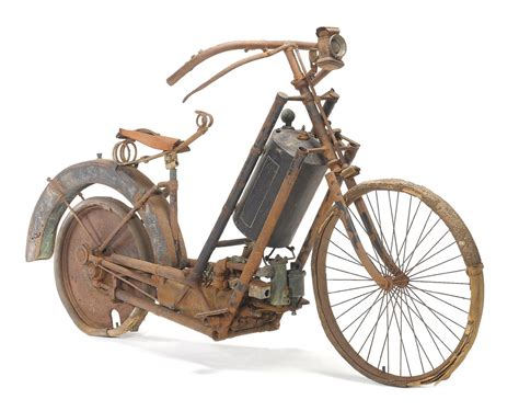 First Ever Series Production Motorcycle Sold For 86,200