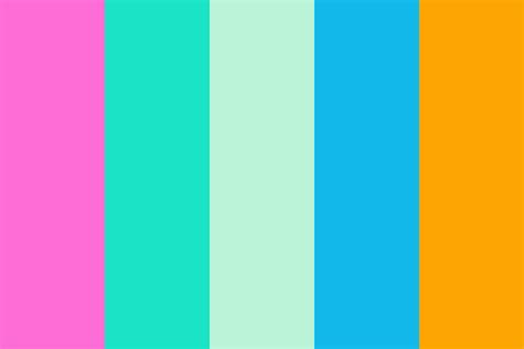 Some Nice Summery Colors Color Palette