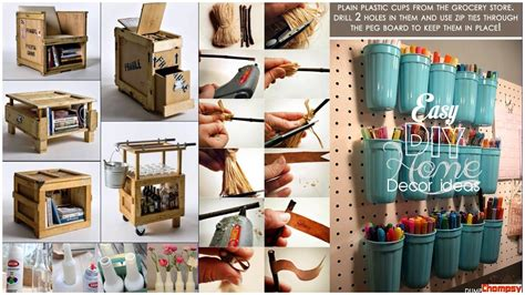 Diy Ideas For Home Decorating Craft Fun Projects On Rustic