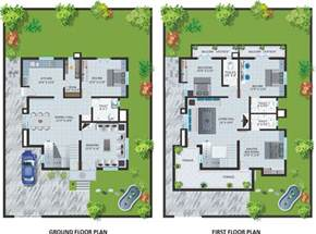 small bungalow house plans modern bungalow house design with floor plan terrific