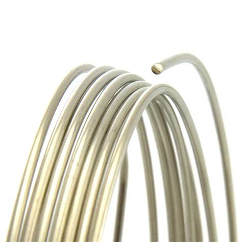 14 Gauge Round Dead Soft Nickel Silver Wire: Wire Jewelry