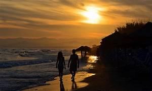 Bilder Meer Strand : sonnenuntergang am strand foto bild landschaft meer strand brandung bilder auf fotocommunity ~ Eleganceandgraceweddings.com Haus und Dekorationen