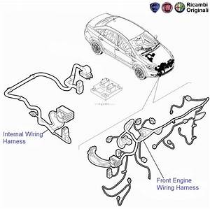 Fiat Linea 1 4 Fire Petrol  Engine Wiring Harness