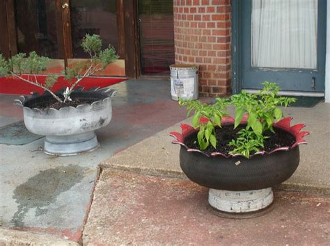 tire planters for 12 tire planter ideas make beautiful planters from