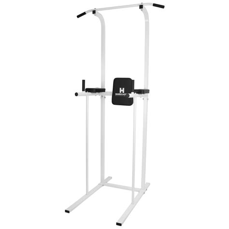 chaise musculation power tower ab dip station pull chin up bar home knee