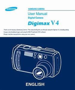 Digimax V4 Manuals