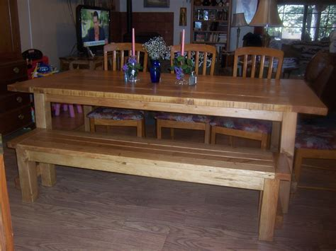 farmhouse table with bench white farmhouse table bench diy projects