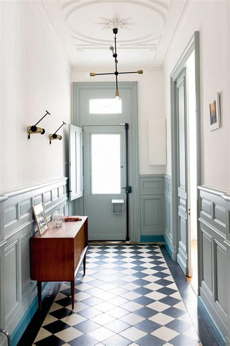 hallway bureau 33 wainscoting ideas with pros and cons digsdigs