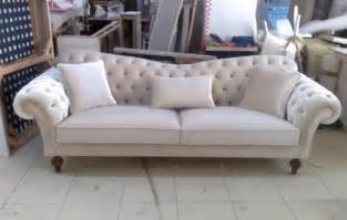 Dining Room Sets That Seat 8 by Velvet Chesterfield Seat Sofa In Cream High Quailty