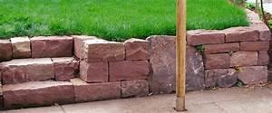 Trockenmauer Bauen Ohne Fundament : trockenmauer gartenschaffer martin ulmer ~ Lizthompson.info Haus und Dekorationen
