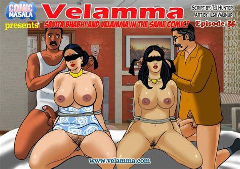 Velamma 36 Savita Bhabhi And Velamma In The Same Comic