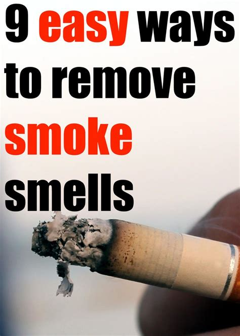 25 best ideas about cigarette smoke removal on