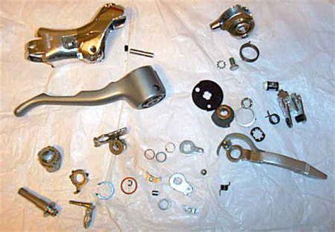 repair of shimano drop bar sti brake shift levers