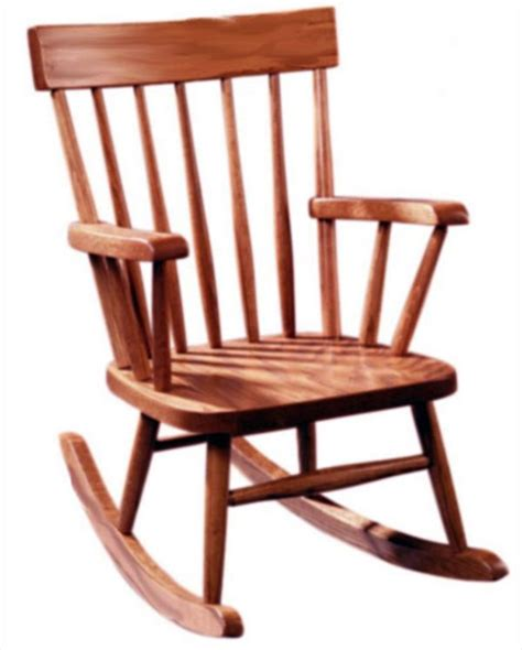 amish furniture rocking chair oak or cherry
