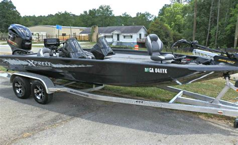 21 Xpress Bass Boats For Sale by Xpress X21 Pro Team Tournament Bass Fishing Boat 2016